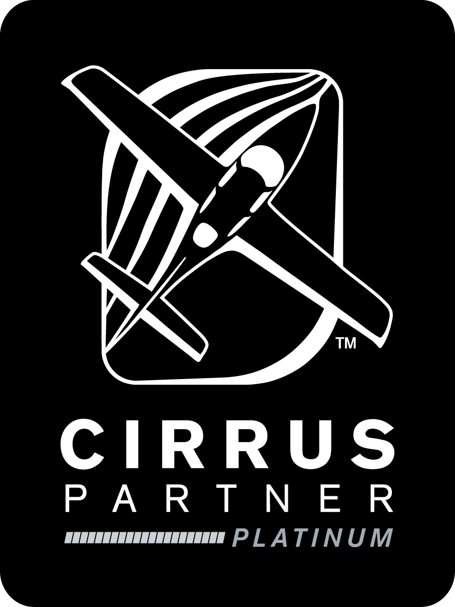 Cirrus Partner Vertical Logo Black