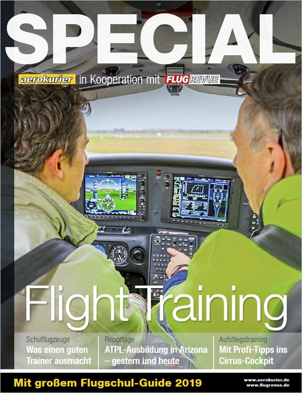 Aerokurier im Cirrus Transition Training bei der FTA