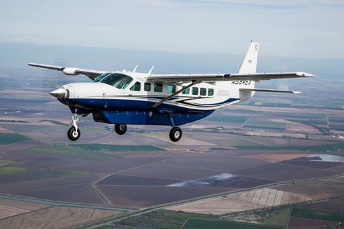 Cessna Caravan Flug