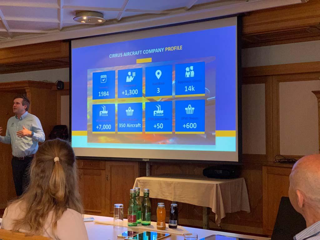 Cirrus Regionales Partner Seminar Salzburg Profile