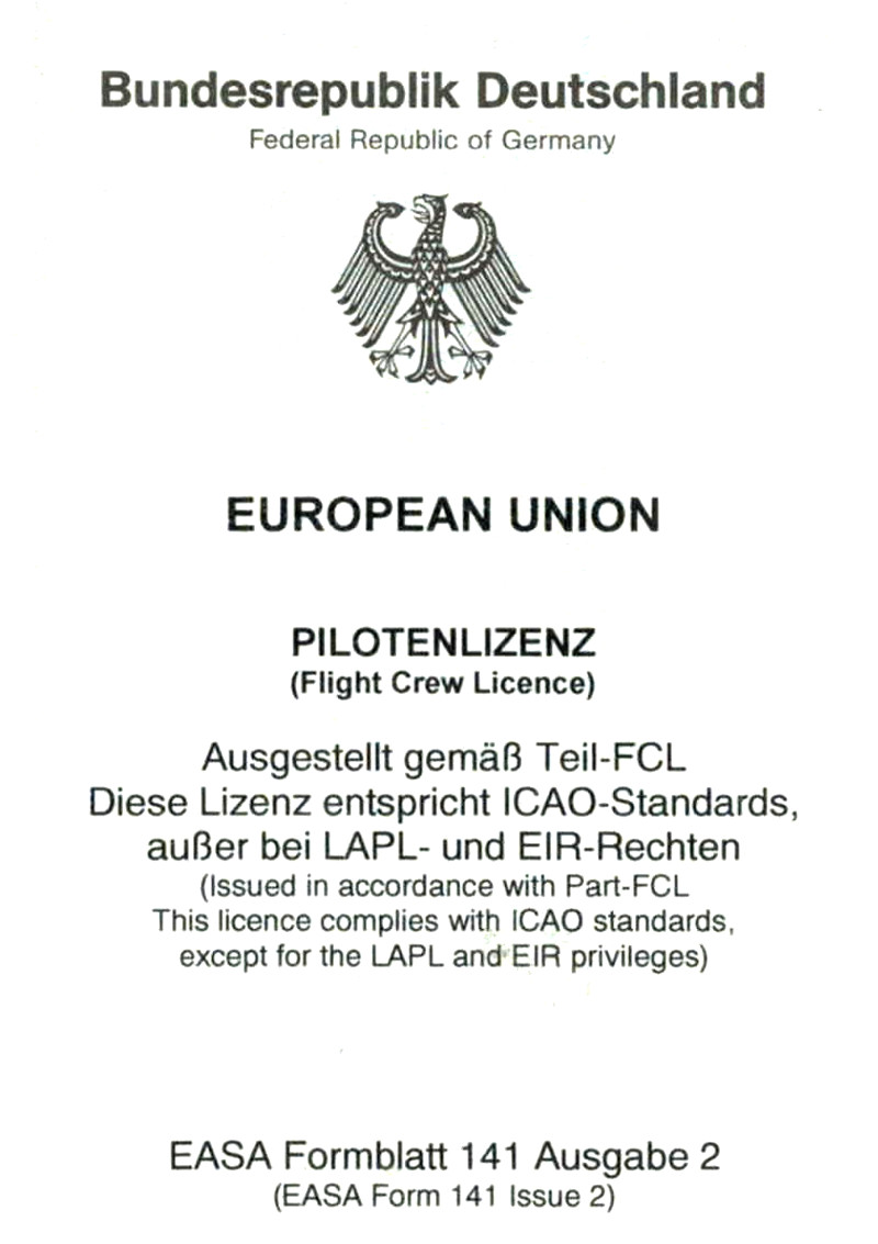 EASA Lizenz