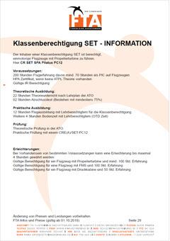 Ausbildung Klassenberechtigung SET PC12 Rhein Main Gebiet Unterfranken