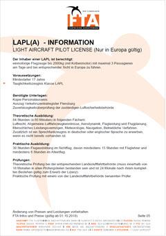 Leichtflugzeuglizenz LAPL(A) Pilotenschein Rhein Main Gebiet Unterfranken