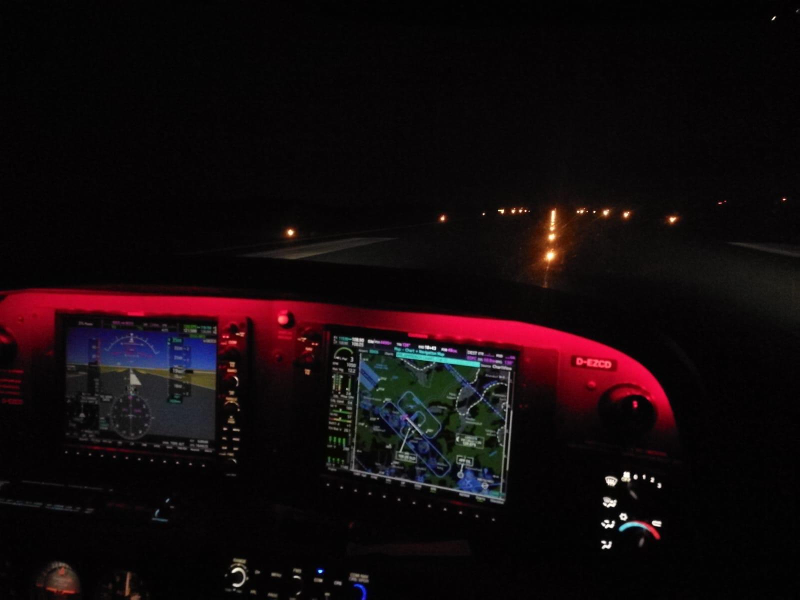 Nachtflug Aschaffenburg
