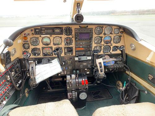 Partenavia Cockpit