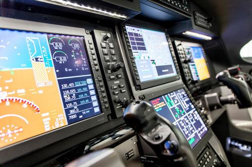 Pilatus PC12 Cockpit