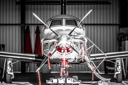 Pilatus PC12 Front